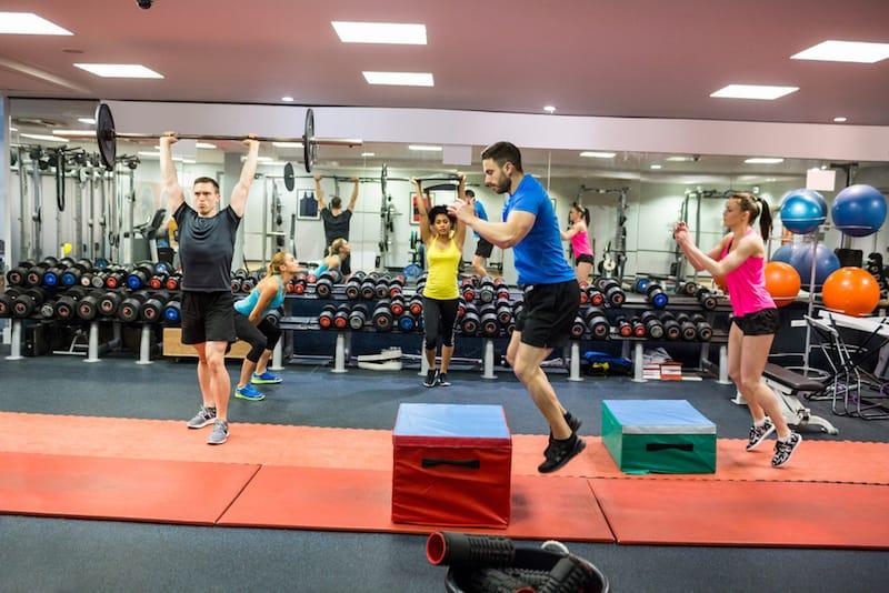 Abhängigkeit von Gesundheit und Fitness